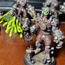 Picture of print of Wargast Kludge-Brute C