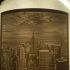 New York litophane image