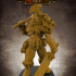 FREE - Orc Barbarian - 32mm scale miniature with supports image