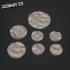 Rocky Cave Floor Bases - 25mm 35mm and 50mm image