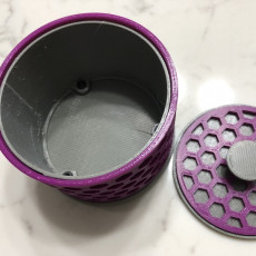 Picture of print of Round Hexagon Box