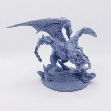 Picture of print of Ashen Manticore