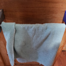 230x230 towel holder