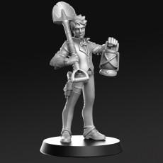 Arthur - Investigator- 32mm - DnD -