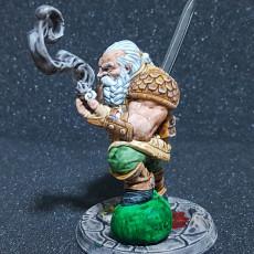 Picture of print of Garaldir - Dwarf Witcher - 32mm - DnD -