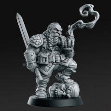 Garaldir - Dwarf Witcher - 32mm - DnD -