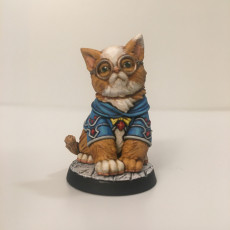 Picture of print of Gaton - Big Cat - 32mm - DnD