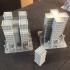 Titanstructure Dark future 8mm scale buildings for titanic battles. Type 00. image