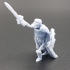 Skeleton Army - King / Commander / General with Sword & Shield image