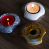 Symmetrical Tealight Holder image
