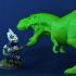 T-Rex for D&D print image