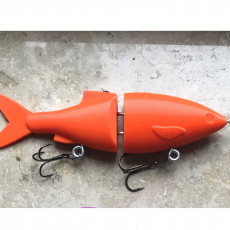 Glide Bait Fishing Lure 12.5cm (easy print and build)