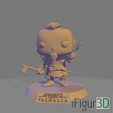 AC:Valhalla inspired pop style figure