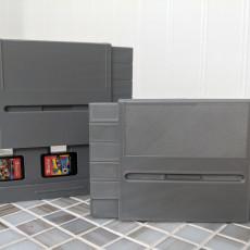 SNES Switch Cartridge Case