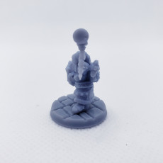 Picture of print of Lasryl The Cleric (Pre-Supported)