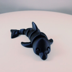 Picture of print of Articulated Dolphin