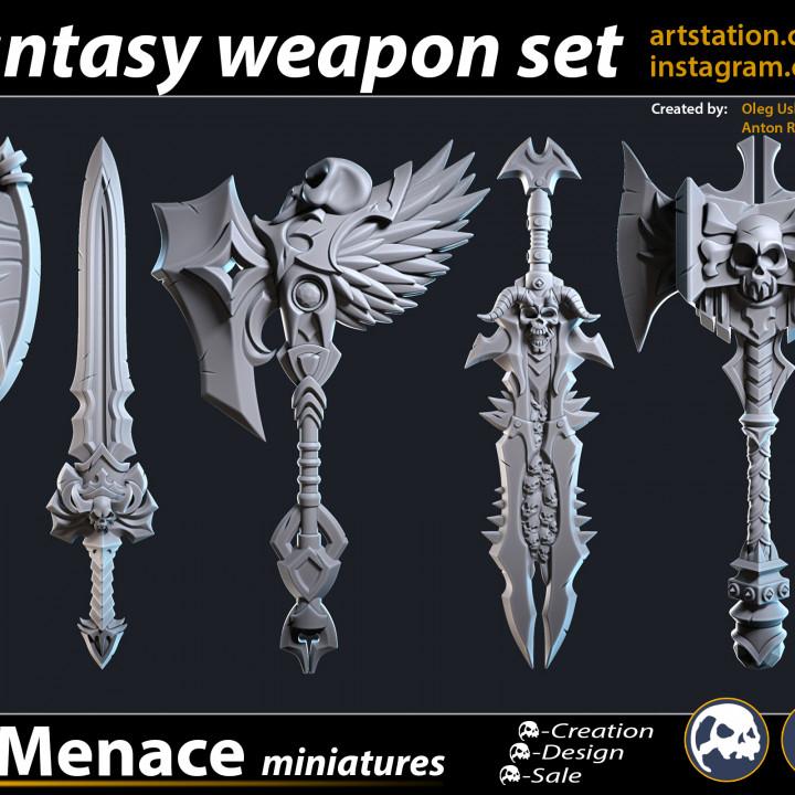 FREE Fantasy Weapon Set