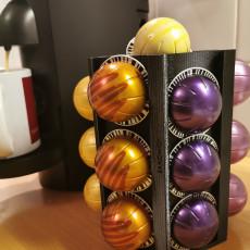 Container for Nespresso Vertuo capsules