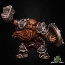 Customizable Dwarf Warrior