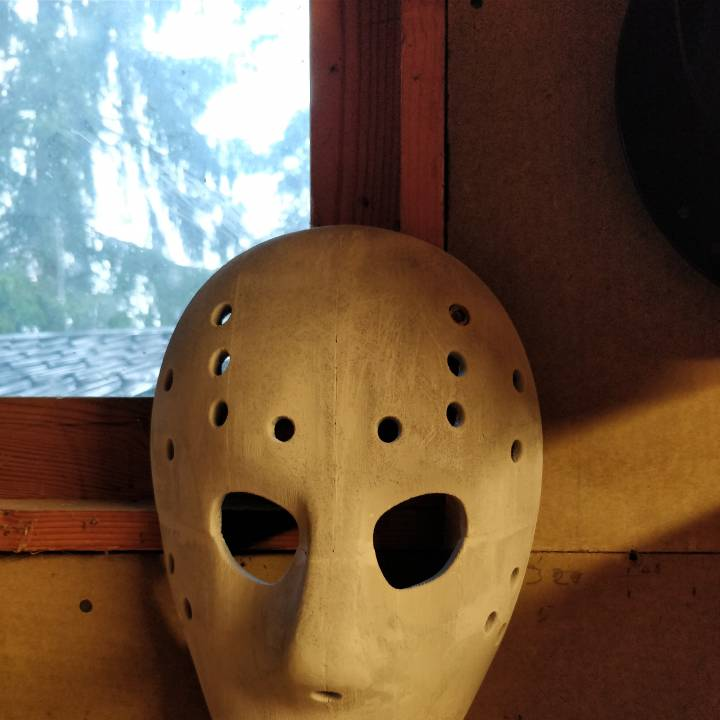 To Print For Jason Mask Pumpkin Stencil: 3D Printable Jason Mask (Full Size) By Alan Stanford